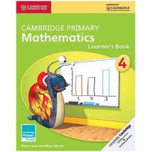 Cambridge Primary Mathematics Learners Book 4 - ISBN 9781107662698