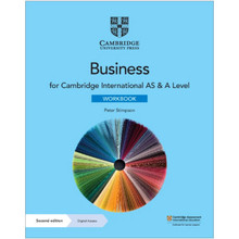 Cambridge International AS & A Level Business Workbook with Digital Access (2 Years) - ISBN 9781108926003