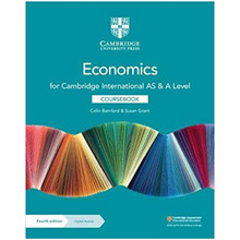 Cambridge International AS & A Level Economics Coursebook with Digital Access (2 Years) - ISBN 9781108903417