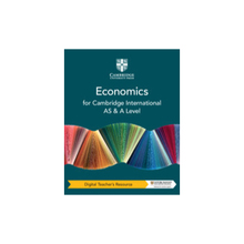 Cambridge International AS & A Level Economics Digital Teacher's Resource - ISBN 9781108822800