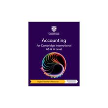 Cambridge International AS & A Level Accounting Digital Teacher's Resource - ISBN 9781108828727