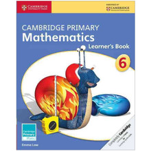 Cambridge Primary Mathematics Learners Book 6 - ISBN 9781107618596