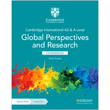 Cambridge International AS & A Level Global Perspectives and Research Coursebook with Digital Access (2 years) - ISBN 9781108909150