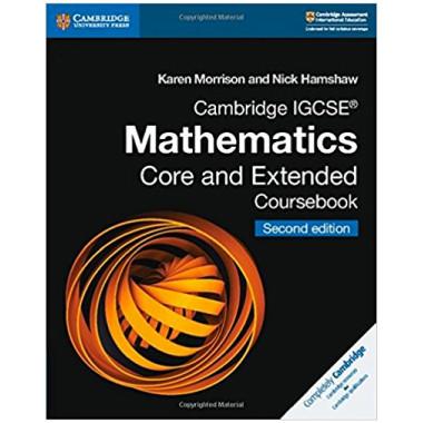 Cambridge IGCSE Mathematics Core and Extended Digital Coursebook (2 Years) - ISBN 9781108972505