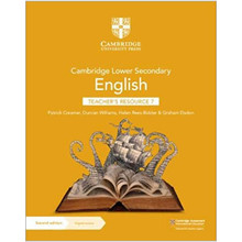 Cambridge Lower Secondary English Teacher's Resource 7 with Digital Access - ISBN 9781108782128