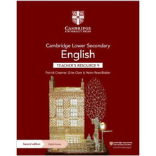 Cambridge Lower Secondary English Teacher's Resource 9 with Digital Access - ISBN 9781108782166