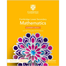 Cambridge Lower Secondary Mathematics Learner's Book 7 with Digital Access (1 Year) - ISBN 9781108771436