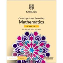 Cambridge Lower Secondary Mathematics Workbook 7 with Digital Access (1 Year) - ISBN 9781108746366