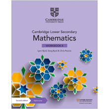 Cambridge Lower Secondary Mathematics Workbook 8 with Digital Access (1 Year) - ISBN 9781108746403