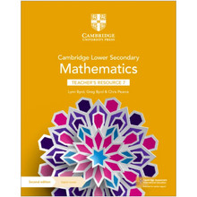 Cambridge Lower Secondary Mathematics Teacher's Resource with Digital Access Stage 7 - ISBN 9781108771405
