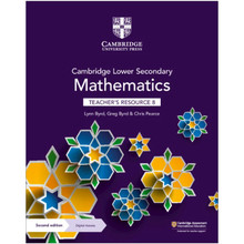 Cambridge Lower Secondary Mathematics Teacher's Resource with Digital Access Stage 8 - ISBN 9781108771450