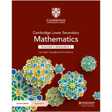 Cambridge Lower Secondary Mathematics Teacher's Resource with Digital Access Stage 9 - ISBN 9781108783897