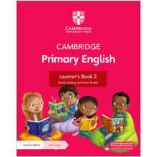 Cambridge Primary English Learner's Book 3 with Digital Access (1 Year) - ISBN 9781108819541