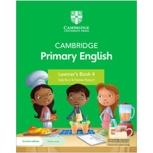 Cambridge Primary English Learner's Book 4 with Digital Access (1 Year) - ISBN 9781108759991