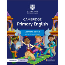 Cambridge Primary English Learner's Book 5 with Digital Access (1 Year) - ISBN 9781108760065