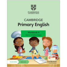 Cambridge Primary English Workbook 4 with Digital Access (1 Year) - ISBN 9781108760010