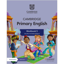 Cambridge Primary English Workbook 5 with Digital Access (1 Year) - ISBN 9781108760072
