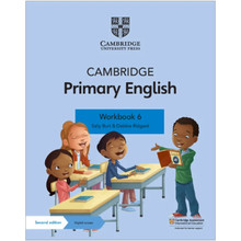 Cambridge Primary English Workbook 6 with Digital Access (1 Year) - ISBN 9781108746281