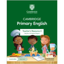 Cambridge Primary English Teacher's Resource 4 with Digital Access - ISBN 9781108770729