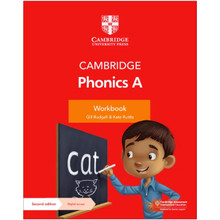 Cambridge Primary English Phonics Workbook A with Digital Access (1 Year) - ISBN 9781108789950