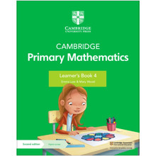 Cambridge Primary Mathematics Learner's Book 4 with Digital Access (1 Year) - ISBN 9781108745291