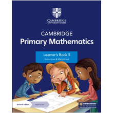 Cambridge Primary Mathematics Learner's Book 5 with Digital Access (1 Year) - ISBN 9781108760034