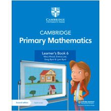 Cambridge Primary Mathematics Learner's Book 6 with Digital Access (1 Year) - ISBN 9781108746328