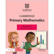 Cambridge Primary Mathematics Workbook 3 with Digital Access (1 Year) - ISBN 9781108746496