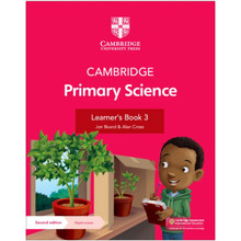 Cambridge Primary Science Learner's Book 3 with Digital Access (1 Year) - ISBN 9781108742764