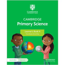 Cambridge Primary Science Learner's Book 4 with Digital Access (1 Year) - ISBN 9781108742931