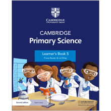 Cambridge Primary Science Learner's Book 5 with Digital Access (1 Year) - ISBN 9781108742955