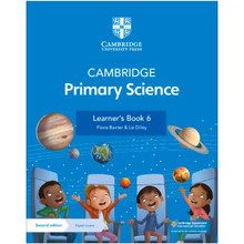 Cambridge Primary Science Learner's Book 6 with Digital Access (1 Year) - ISBN 9781108742979