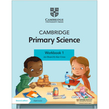 Cambridge Primary Science Workbook 1 with Digital Access (1 Year) - ISBN 9781108742733