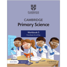 Cambridge Primary Science Workbook 5 with Digital Access (1 Year) - ISBN 9781108742962