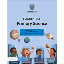 Cambridge Primary Science Workbook 6 with Digital Access (1 Year) - ISBN 9781108742986