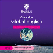 Cambridge Global English Digital Classroom 8 Access Card (1 Year Site Licence) - ISBN 9781108925815