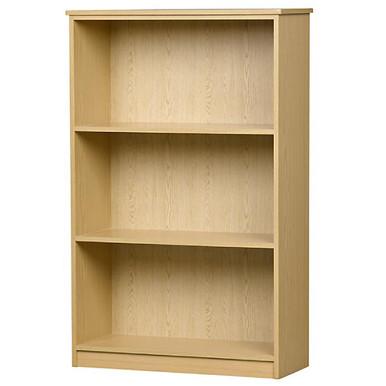 3 Tier Bookcase in Natural Oak Melamine