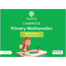 Cambridge Primary Mathematics Games Book 4 with Digital Access - ISBN 9781108986854