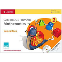 Cambridge Primary Mathematics Games Book with CD-ROM 2 - ISBN 9781107623491
