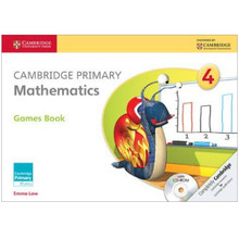 Cambridge Primary Mathematics Games Book with CD-ROM 4 - ISBN 9781107685420