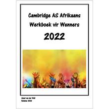 AS Afrikaans Werkboek for 2022 - SVW-AS-WB2022