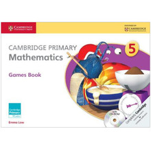 Cambridge Primary Mathematics Games Book with CD-ROM 5 - ISBN 9781107614741
