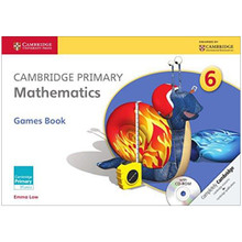 Cambridge Primary Mathematics Games Book with CD-ROM 6 - ISBN 9781107667815