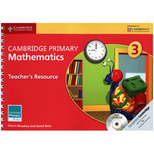 Primary Mathematics Teachers Resource Book 3 with CD-ROM - ISBN 9781107668898