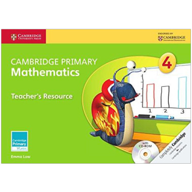 Primary Mathematics Teachers Resource Book 4 with CD-ROM - ISBN 9781107692947