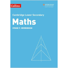 Collins Cambridge Lower Secondary Maths Stage 7 Workbook (2nd Edition) - ISBN 9780008378561