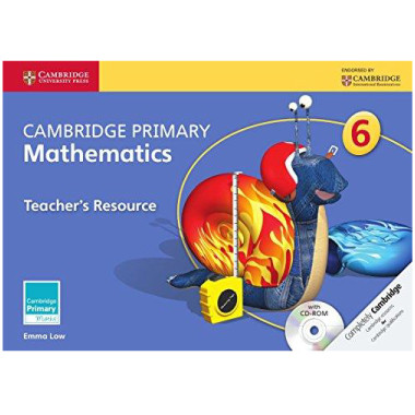 Primary Mathematics Teachers Resource Book 6 with CD-ROM - ISBN 9781107694361