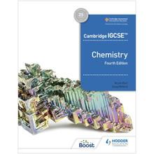 Hodder Cambridge IGCSE Chemistry Boost eBook (4th Edition) - ISBN 9781398310780