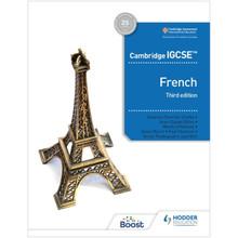 Hodder Cambridge IGCSE French Boost eBook (3rd Edition) - ISBN 9781398329645