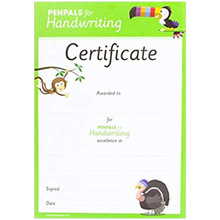 Penpals for Handwriting Pen Licence Certificate (Pack of 300) - ISBN 9781845655853
